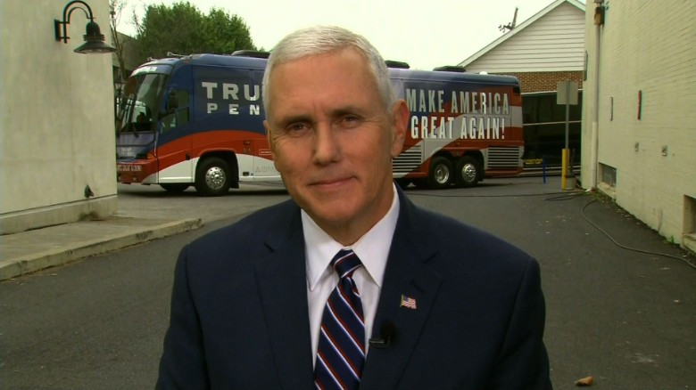 Mike Pence defending Donald Trump statements newday_00000000