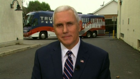Mike Pence defending Donald Trump statements newday_00000000.jpg