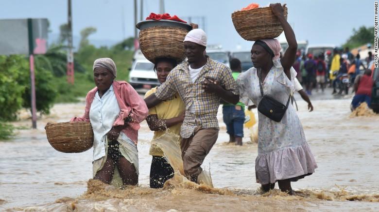 Haiti devastated by Hurricane Matthew