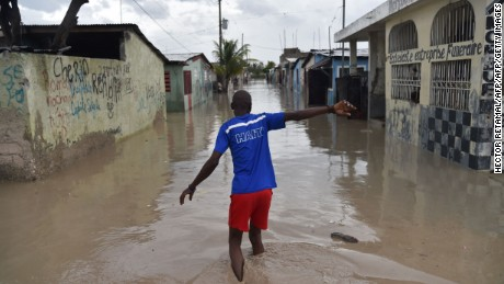 The vast damage wrought upon Haiti is clearly visible in a neighbourhood of the commune of Cite Soleil, in the capital Port-au-Prince.