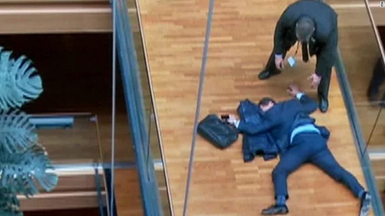 UKIP leadership contender  in hospital after 'altercation'_00010417