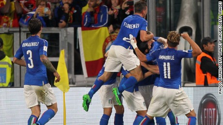 Spain went into its clash against Italy without defeat in 54 World Cup  qualifiers 24be1fc433b78