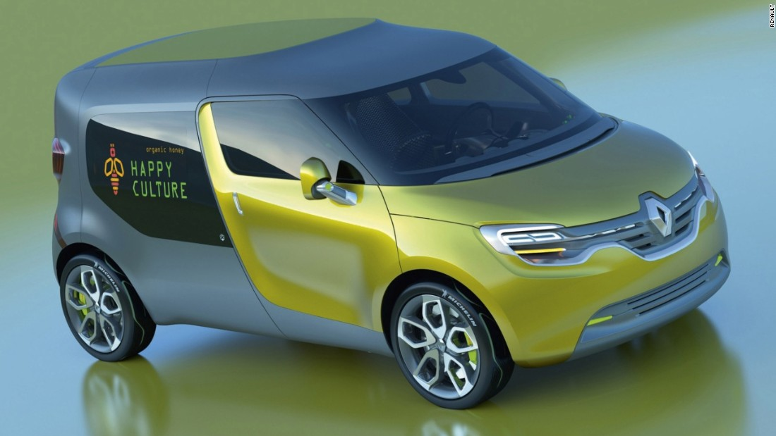 The Renault Frendzy was also unveiled in 2011, and is an electrically-powered work van.