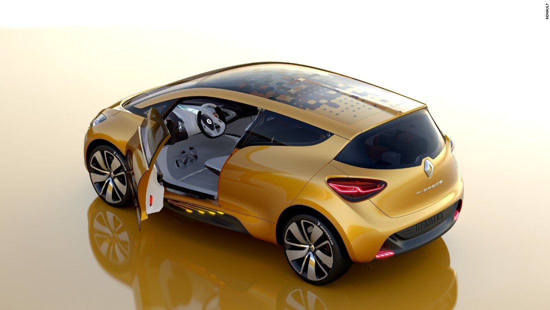The R-Space concept is a flashy family car that was unveiled at the 2011 Geneva Motor Show.