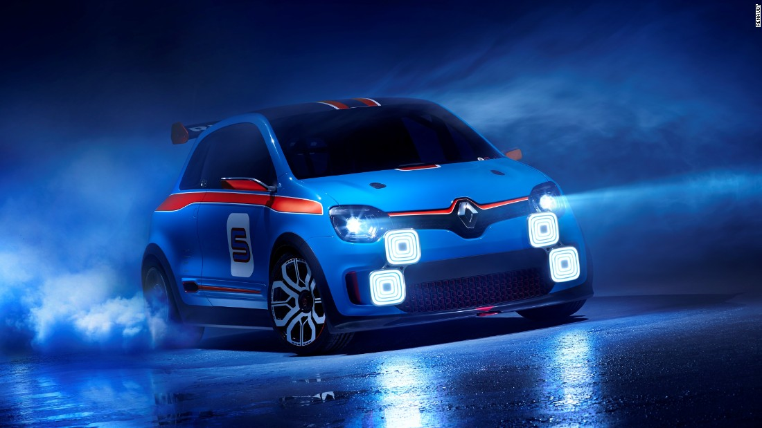 A Renault Sport product, the Twin'Run pays homage to Renault rally cars of the past.