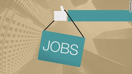 cnnmoney jobs up