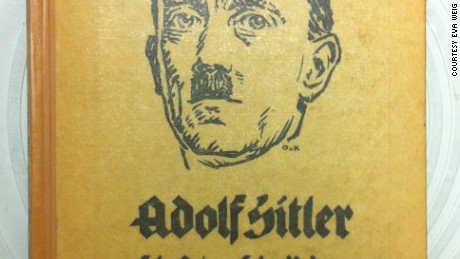 """Front cover of the 1923 book, """"Adolf Hitler: His Life and His Speeches."""""""