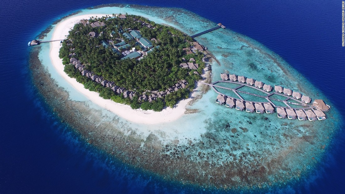 The Outrigger Konotta Maldives Resort is located in the Gaafu Dhaalu atoll.