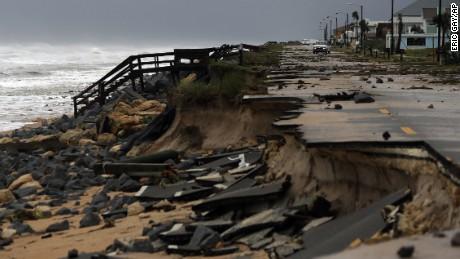 Hurricane Matthew's path of destruction