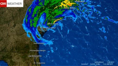Hurricane Matthew weather update myers 8a_00000000