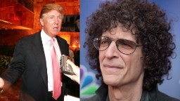 Stern predicted Trump would miss old life