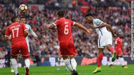 Sturridge scored England's opener against minnows Malta.