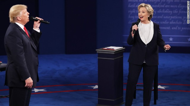 Afbeelding bij 7 fact checks from the town hall presidential debate
