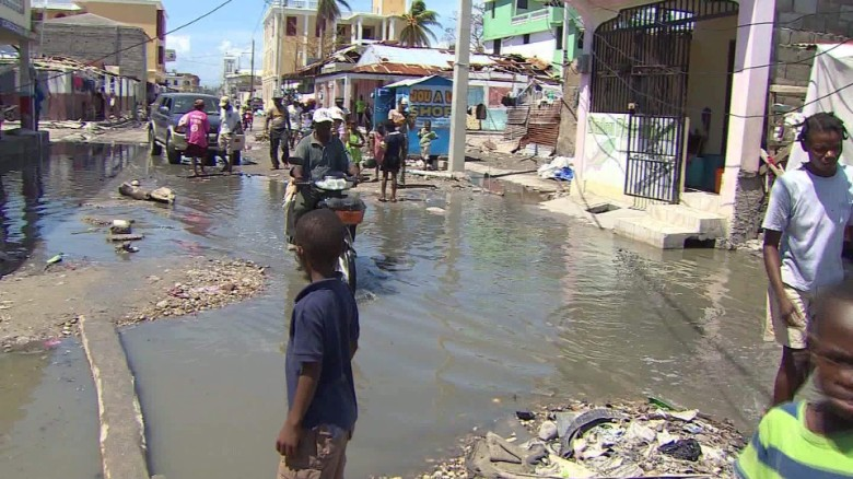 Haitian leader: Cholera kills 13 after Matthew