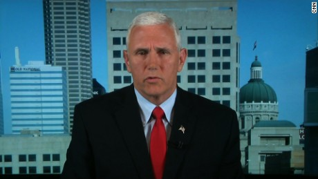 Pence addresses Trump's dismissal of Syria policy