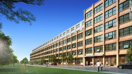 Developers are converting the 400,000-square-foot building into 330 apartments plus 18,500 square feet of retail space.