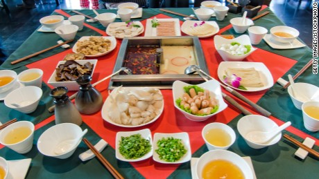 Sichuan steamboat