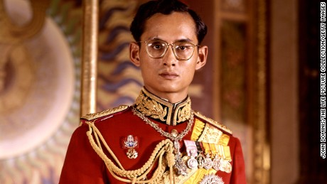 Thailand's King Bhumibol Adulyadej in serious portrait.  (Photo by John Dominis/The LIFE Picture Collection/Getty Images)