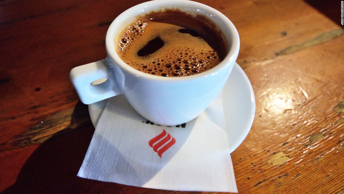 """""""Greeks are heavy coffee drinkers,"""" says Alternative Athens tour guide Diana. """"We also like to socialize in cafes unlike, say, the Italians with their quick drink-and-go espresso shots."""""""