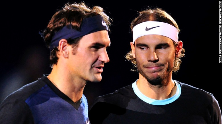 Together they hold 31 majors, but these are tough times -- relatively speaking -- for Roger Federer, left, and Rafael Nadal, right.