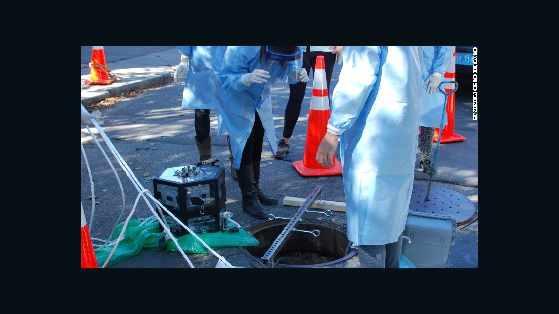 """The sensors develop technology used for MIT's sewer-trawling project """"Underworlds,"""" but goes further with more sophisticated and forensic data collection."""