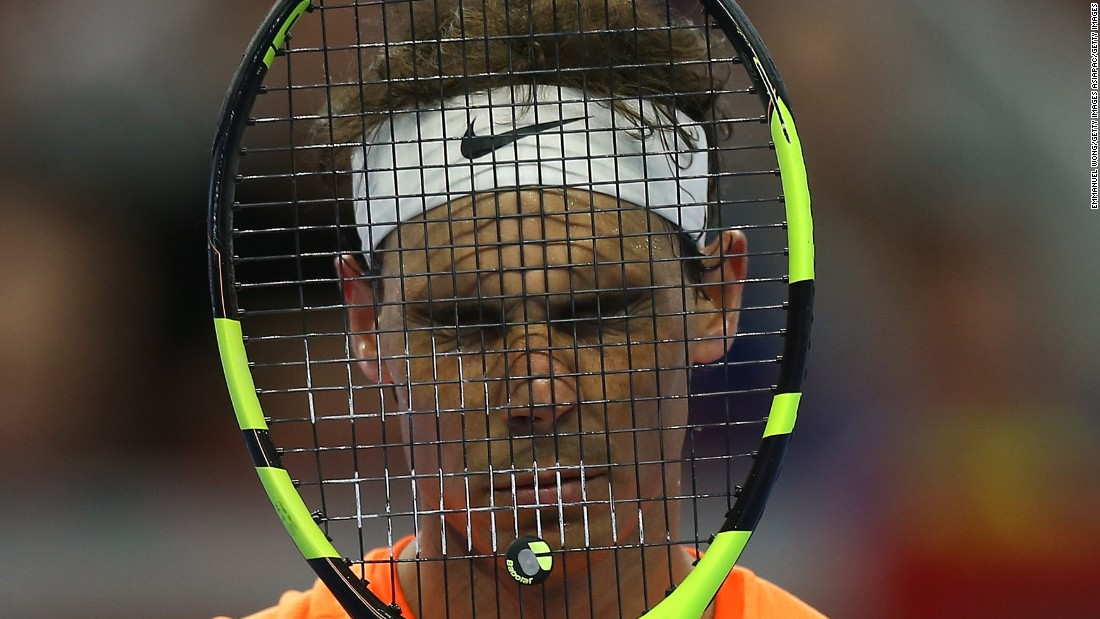 And then last week, Nadal suffered his first loss in eight matches against Grigor Dimitrov at the China Open, and in straight sets.