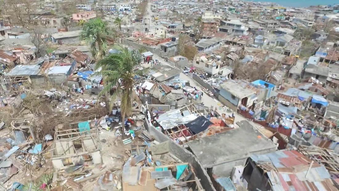 Haiti desperate for help after Matthew