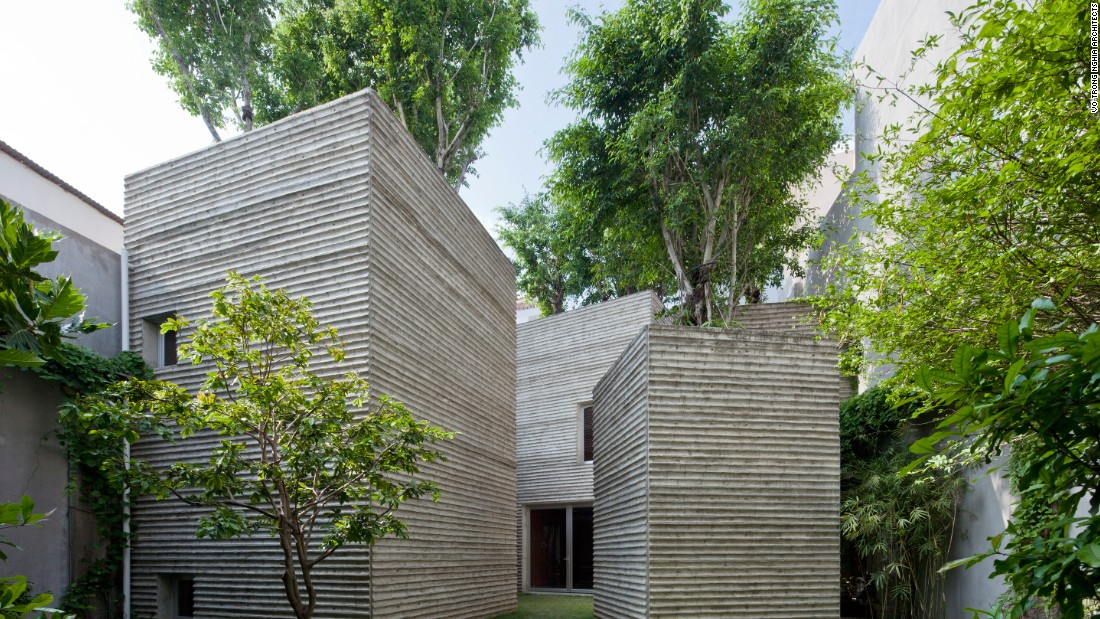 When approaching House for Trees, Vo Trong Nghia Architects set out to create a courtyard housing complex that's covered in greenery to reconnect its residents with nature.
