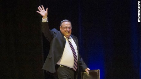 Governor LePage calls President Obama