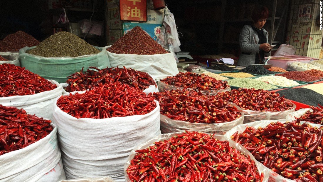 "Sichuan province is ""the spicy, sensualist heartland of all the things I love about China,"" said Anthony Bourdain. Spicy chili peppers and Sichuan peppercorns are two ingredients integral to its cuisine."