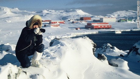 Rebecca Lee was the first woman to join the China National Antarctic Expedition in 1985.