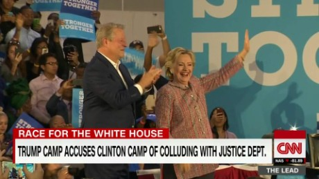 hillary clinton al gore florida wikileaks emails zeleny lead dnt_00025316