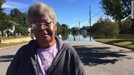 Myrna Deloatch of Tarboro, North Carolina.