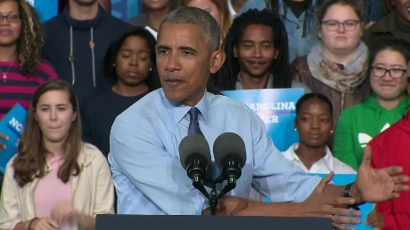 obama trump v republican party reax nc rally sot_00001316