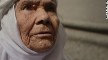 Eida Karmi is a 115-year-old Syrian refugee.