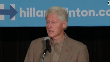 Bill Clinton heckler