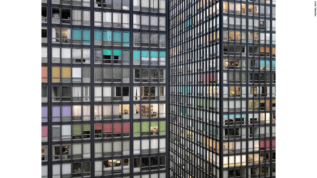 """Wolf's """"Transparent City"""" series looks at architecture and living in Chicago."""