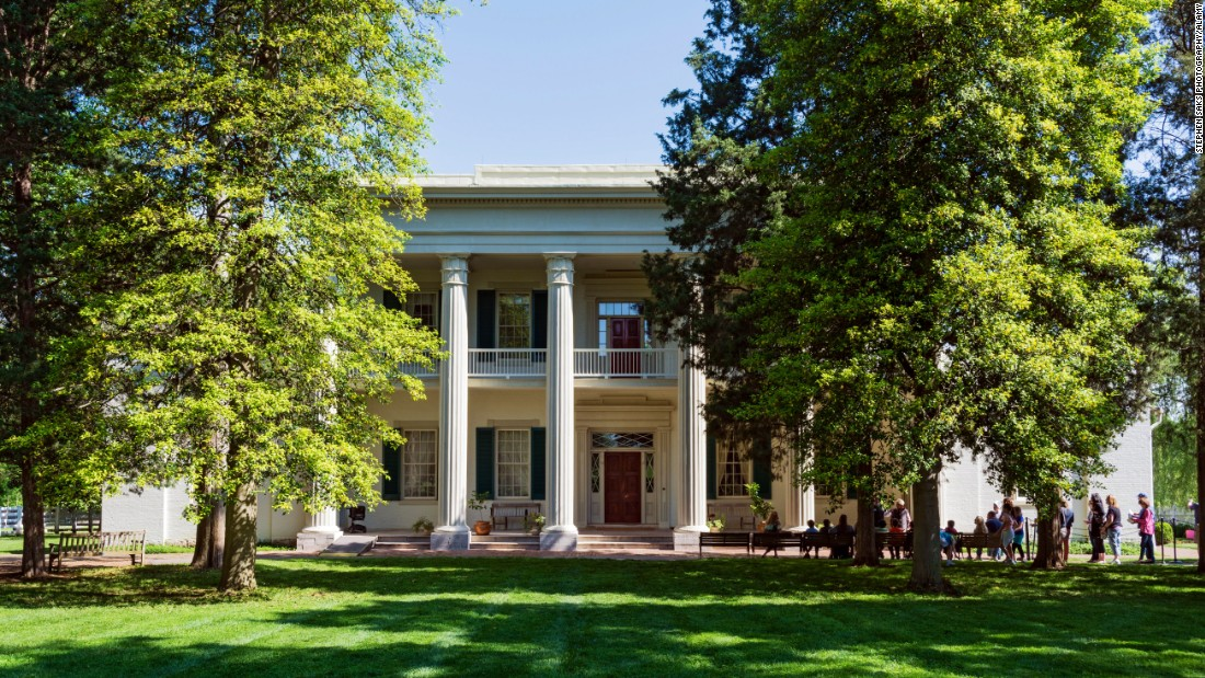 <strong>Andrew Jackson's Hermitage, Tennessee </strong>-- Jackson completed construction on the Hermitage in 1819, but an 1834 fire during his presidency necessitated fairly expensive repair and renovation work.