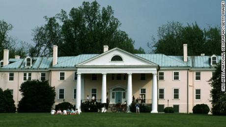 Montpelier, both James Madison's birthplace, and his retirement home, Montpelier Plantation, Virginia.