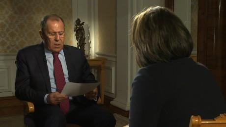 Lavrov on Aleppo boy whose image shocked the world
