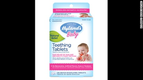 Teething Tablets May Be Linked To 10 Children S Deaths