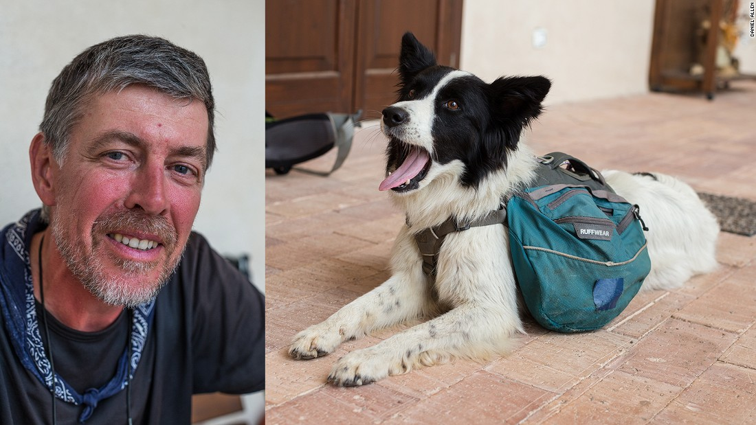"""Those who choose to explore the Italian Wonder Ways have the option to walk for a few days or a few months. After preparing for five years, Belgian Michel Goletti (pictured), together with his dog Laika, hiked from Inverness in Scotland to Santa Maria di Leuca in southern Italy. Taking in most of the Via Francigena, his 3,350-mile, 200-day journey raised money for a Belgian charity.   """"It has really been a life-changing experience,"""" says Goletti. """"I've met some amazing people."""""""