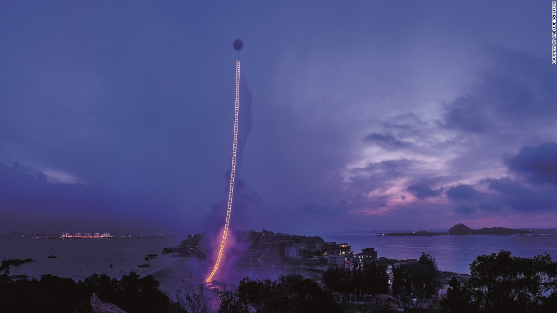 """The documentary """"Sky Ladder"""", Cai Guo-Qiang's most ambitious project to-date, is now on Netflix."""