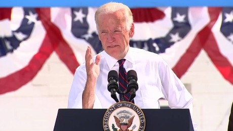 Biden: Trump's remarks 'textbook definition of sexual assault'
