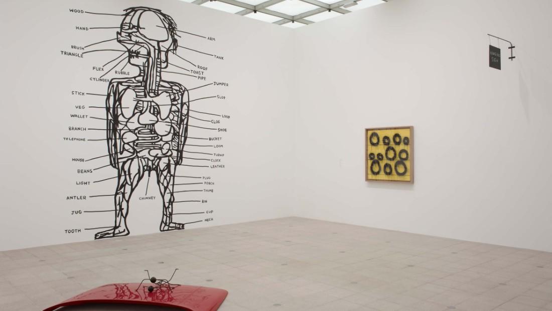 """Brain Activity"" (at the Hayward Gallery, 2012)."