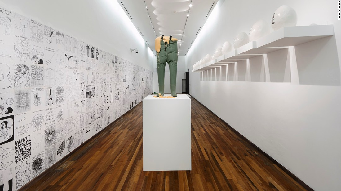 """Lose Your Mind"" (at Instituto Cultural Cabañas, Guadalajara, Mexico, November 2015)."