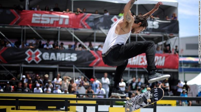 Dylan Rieder skateboarder