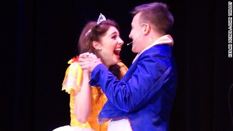 proposal surprise beauty and the beast