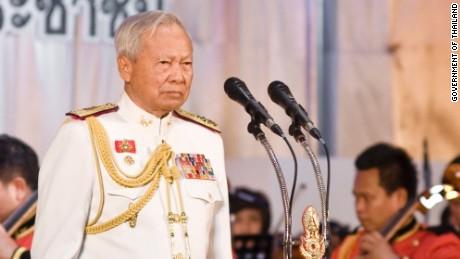 Privy Council President Prem Tinsulanonda.