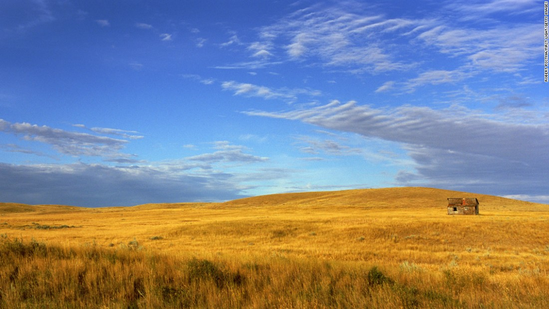 Just across the Canadian border from Montana, Grasslands National Park in Saskatchewan features some of the only remaining pristine grassland left in North America. Here, travelers can see plains bison and other threatened prairie wildlife in their natural habitat. TVs blaring election news are less common.